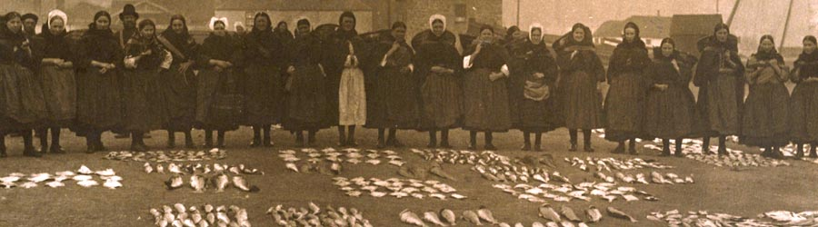 Fish Wives at Fisherrow fish market